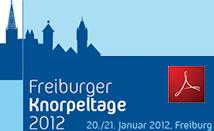 Freiburger Knorpeltage